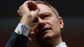 """""""AfD ist kein Ersatz für die FDP"""": Lindner ist in Angriffslaune"""