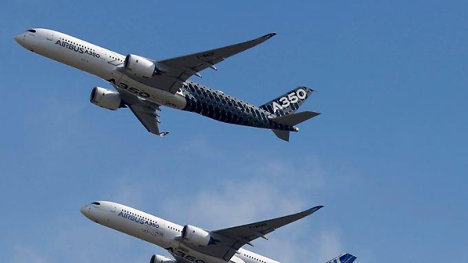 Volle Bücher: Airbus offenbar nicht zu bremsen