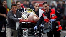Einige der Verletzten befinden sich in einem kritischen Zustand.