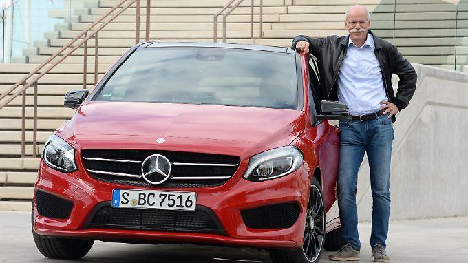 Mercedes bereitet Daimler-Chef Dieter Zetsche derzeit viel Freude.