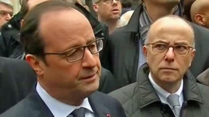 """""""Außergewöhnlich barbarische Tat"""": Hollande äußert sich zu Attentat auf Zeitung in Paris"""