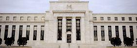Bis März will die Fed den Leitzins nicht ändern.