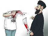 """""""#JesuisCharlie"""": Karikaturen gegen die Attentäter"""