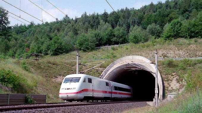 Die Bahn möchte mit rund einer Milliarde Euro ihre Tunnel sanieren.