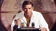 """Rod Taylor ist seiner wohl berühmtesten Rolle in """"Die Zeitmaschine""""."""