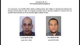 In Terrorcamp ausgebildet: Kouachi-Brüder seit Jahren im Visier von US-Behörden