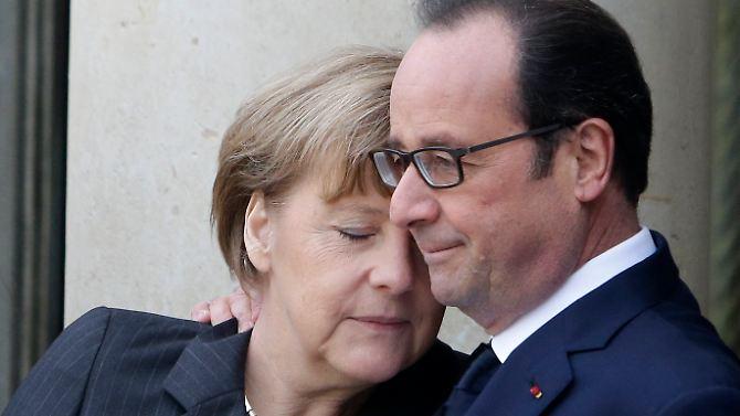 Schulterschluss gegen den Terror: Die Welt steht Frankreich bei