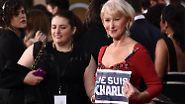 Überschattet wird die Golden-Globe-Verleihung durch die Ereignisse in Paris.