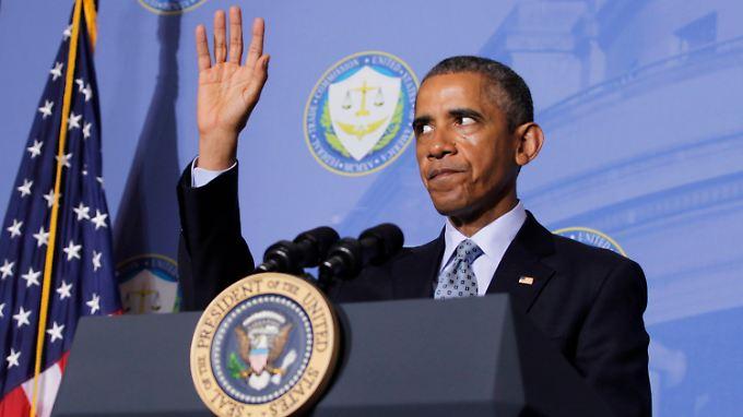 War beim Gedenkmarsch in Paris nicht dabei: US-Präsident Barack Obama.