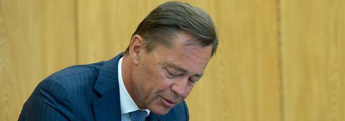 Thomas Middelhoff sitzt seit gut zwei Monaten im Gefängnis.