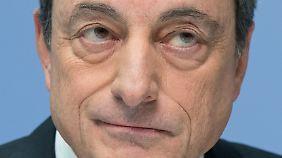 EZB-Chef Mario Draghi dürfte zufrieden sein.