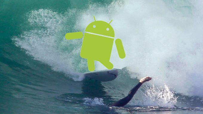 Sicherheitslücken im Android-Browser machen das Surfen gefährlich.