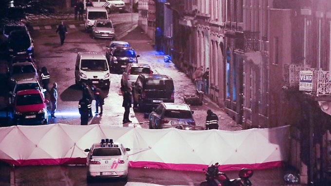 Anti-Terror-Aktion in Belgien: Zwei mutmaßliche Dschihadisten sterben bei Polizeieinsatz