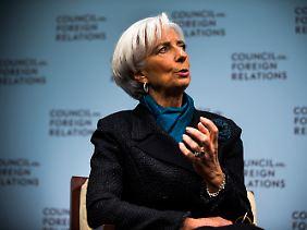"""Christine Lagarde: """"Es wird zu wenig investiert und konsumiert."""""""