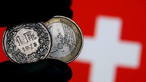 """Aufwertung des Franken: Schweizer Wirtschaft """"wird leiden"""""""