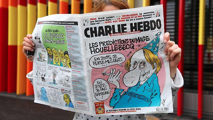 Houellebecq spielt einfach durch, wovor der Westen Angst hat.
