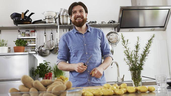 Ein Kartoffelesser hat mehr vom Leben - einfach mal ausprobieren!