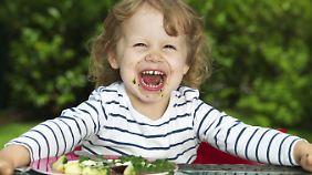Gesund, aber von vielen Kindern ungeliebt: Kartoffeln mit Spinat.