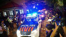 Wegen Drogenvergehen: Jakarta lässt fünf Ausländer erschießen