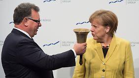 Geplantes Anleihen-Kaufprogramm: Merkel mahnt EZB zu Zurückhaltung