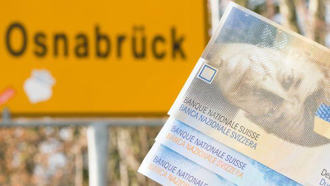Auch Osnabrück hat sich von den günstigen Franken-Krediten anlocken lassen.