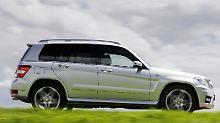 Den eckigen Schick hat Mercedes dem GLK von der Geburt mit auf den Weg gegeben.