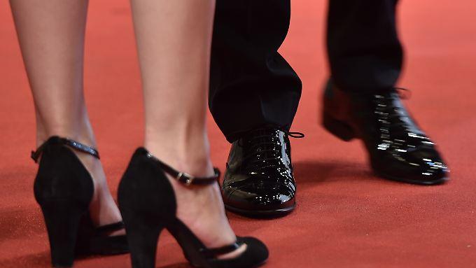 Die Trendfarbe Schwarz hat dem Schuhhandel kein gutes Jahr eingebracht.