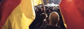 Wer ist schon Lutz Bachmann?: Die düstersten Gestalten der Gida-Demos