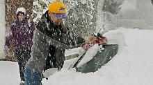 """Schneeprobleme und Skifreuden: """"Weißer Kurt"""" sorgt für Chaos"""