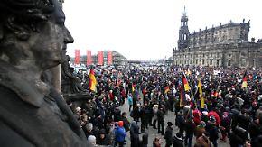 Weniger Zulauf bei Tageslicht: Pegida will Politiker konkret zum Handeln zwingen