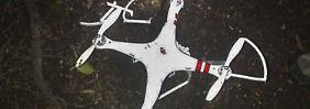 Ob der Mann seinen Quadrocopter wiederbekommt, ist noch nicht geklärt.