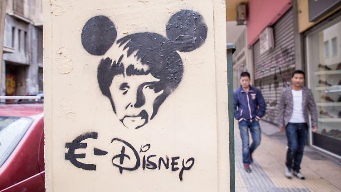 Graffiti in Athen.