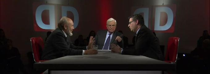 """""""Das Duell"""" zur Griechenland-Krise: Sinn: Euro-Aus für Athen ist """"unerlässlich"""""""