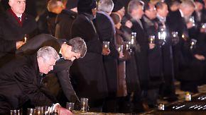 Gegen das Vergessen: Welt gedenkt in Auschwitz der Befreiung vor 70 Jahren