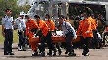 Nach Pause für Rettungskräfte: Air-Asia-Bergung wird fortgeführt