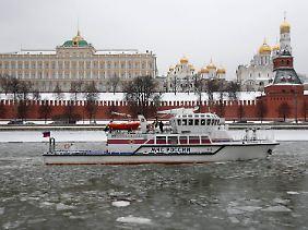 Russland treffen die Sanktionen. Die deutschen Exporte in das riesige Land werden auch beeinträchtigt.