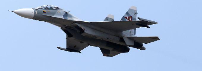 Solche Jets setzten die Chinesen über dem ostchinesischen Meer ein - das Foto zeigt Exemplare der venezolanischen Luftwaffe.