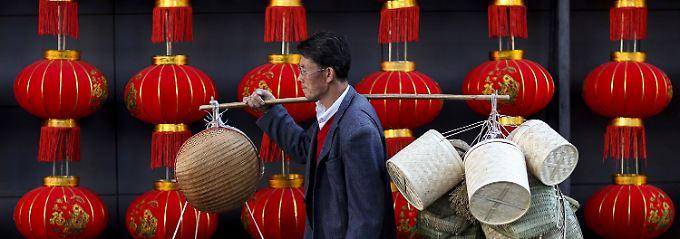 Chinas Wirtschaftswachstum hat sich 2014 verlangsamt.