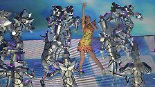 Flammendes Inferno zur Halbzeit: Katy Perry siegt beim Super Bowl