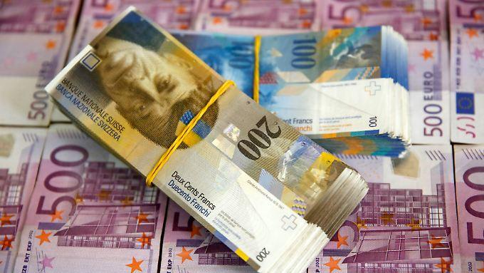 Böse Überraschung: Für den Euro gilt kein Mindestkurs mehr gegenüber dem Schweizer Franken