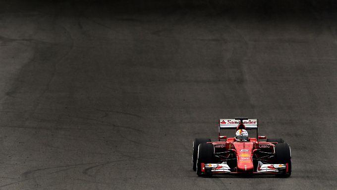 Sebastian Vettel fährt jetzt Ferrari - in diesem Jahr aber nicht auf einer deutschen Rennstrecke.