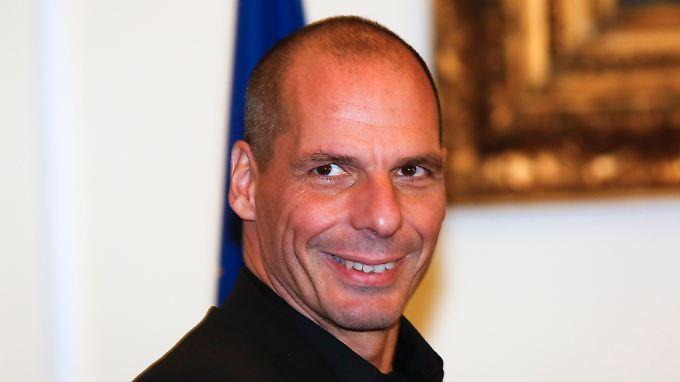 """Varoufakis spricht vor seinem Besuch Schäuble """"Respekt"""" aus."""