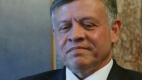 """""""Fehlgeleitete Verbrecherbande, die nichts mit unserer Religion zu tun hat"""": König Abdullah II."""