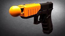 Nicht-tödliche Dienstwaffen: Polizei in Ferguson experimentiert mit Kugeln
