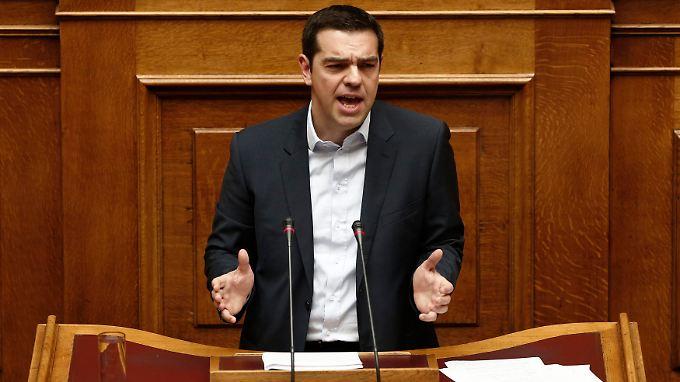 Tsipras hat in seiner ersten Regierungserklärung die Richtung vorgegeben.