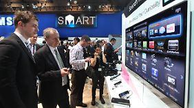 Smart-TVs leiten Infos weiter: Datenschützer fordern von Samsung mehr Transparenz