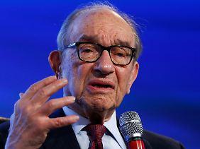 Alan Greenspan meldet sich zu Wort.