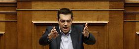 Taten statt Worte: Tsipras muss liefern