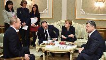 Waffenruhe für die Ukraine?: Staatschefs wollen Dokument unterzeichnen