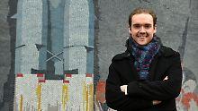 Irgendwann will auch er in einer Rakete sitzen - und zum Mars fliegen: Denis Newiak aus Potsdam.